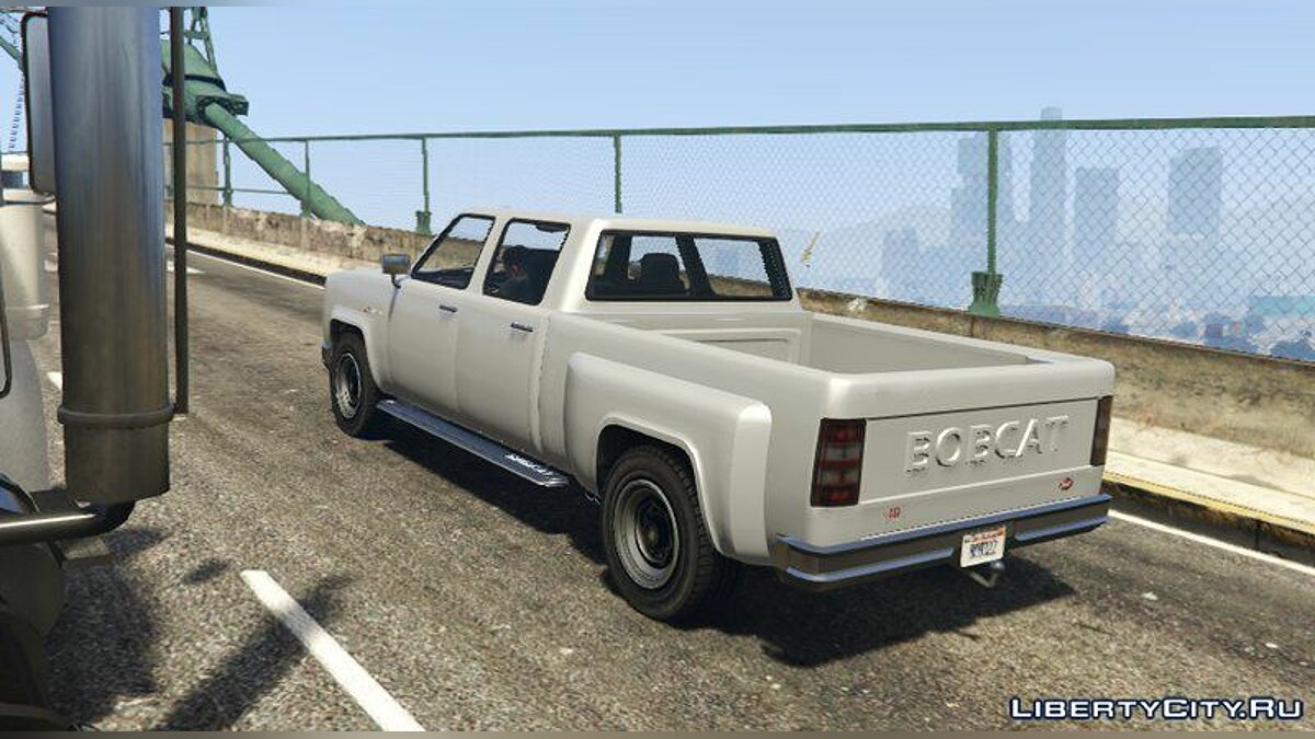 Машина Bobcat XL Crew Cab [Add-On / Replace] для GTA 5