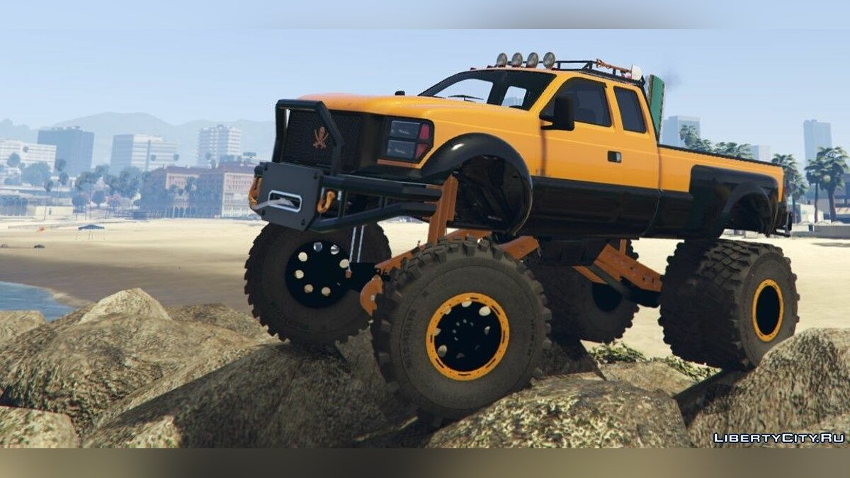 Sandking HD Monster Dually [Add-On / Replace] 1.4.5 для GTA 5