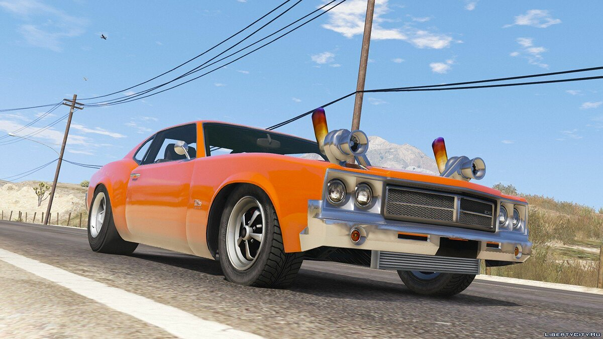 Машина Declasse Sabre Turbo Drag [ Add-On / Replace ] 1.0 для GTA 5