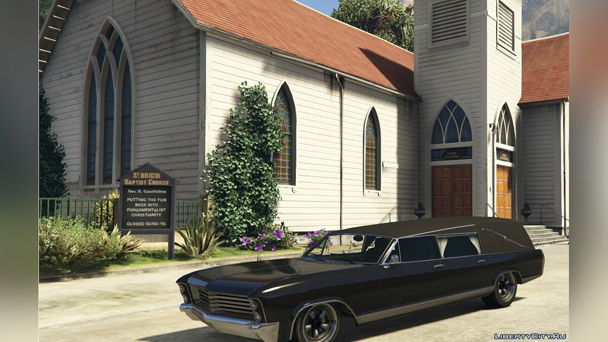 Машина Civilian Chariot Lurcher Hearse [Add-On] для GTA 5