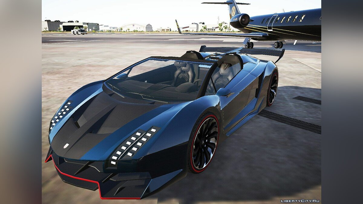 Машина Pegassi Zentorno Roadster [Add-On] 0.095 для GTA 5