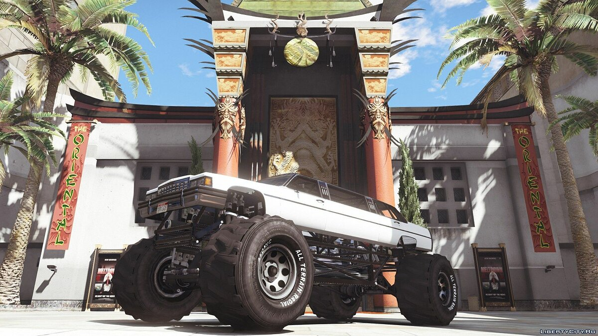 Машина Albany Emperor Limousine Monster [Add-On / Replace] 1.0 для GTA 5