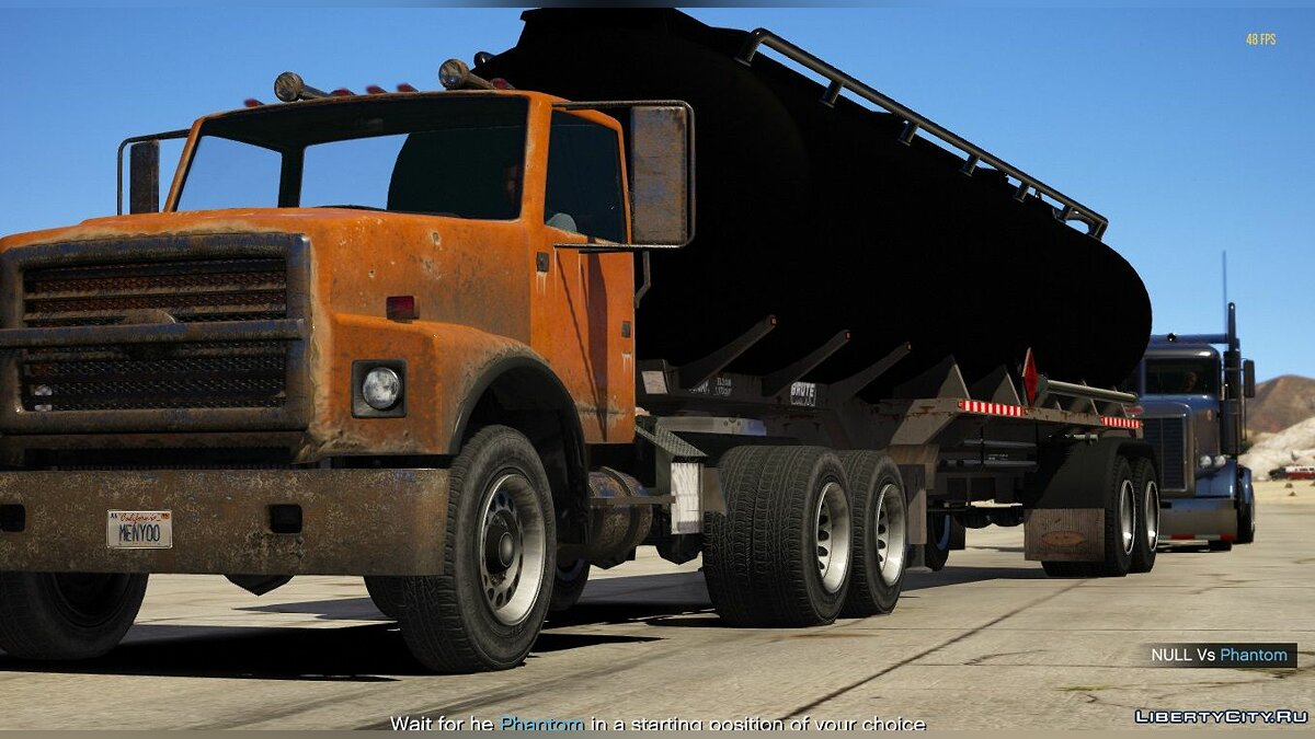 Машина Rust Bucket Semi Truck [Replace/ADD-on] 1.0 для GTA 5