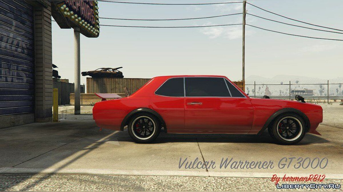 Машина Warrener GT3000 [Replace] 1.0 для GTA 5