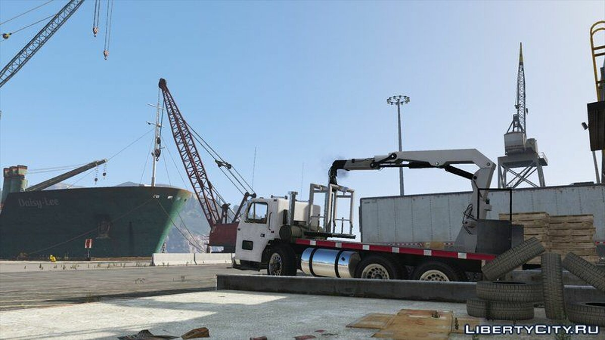 Машина Jobuilt Haulmaster Flatbed [Add-On / Replace] для GTA 5