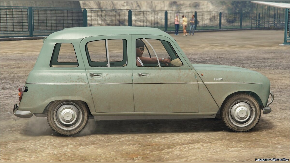 Машина Renault RENAULT 4 [Add-On / Replace | LODS] 1.0 для GTA 5