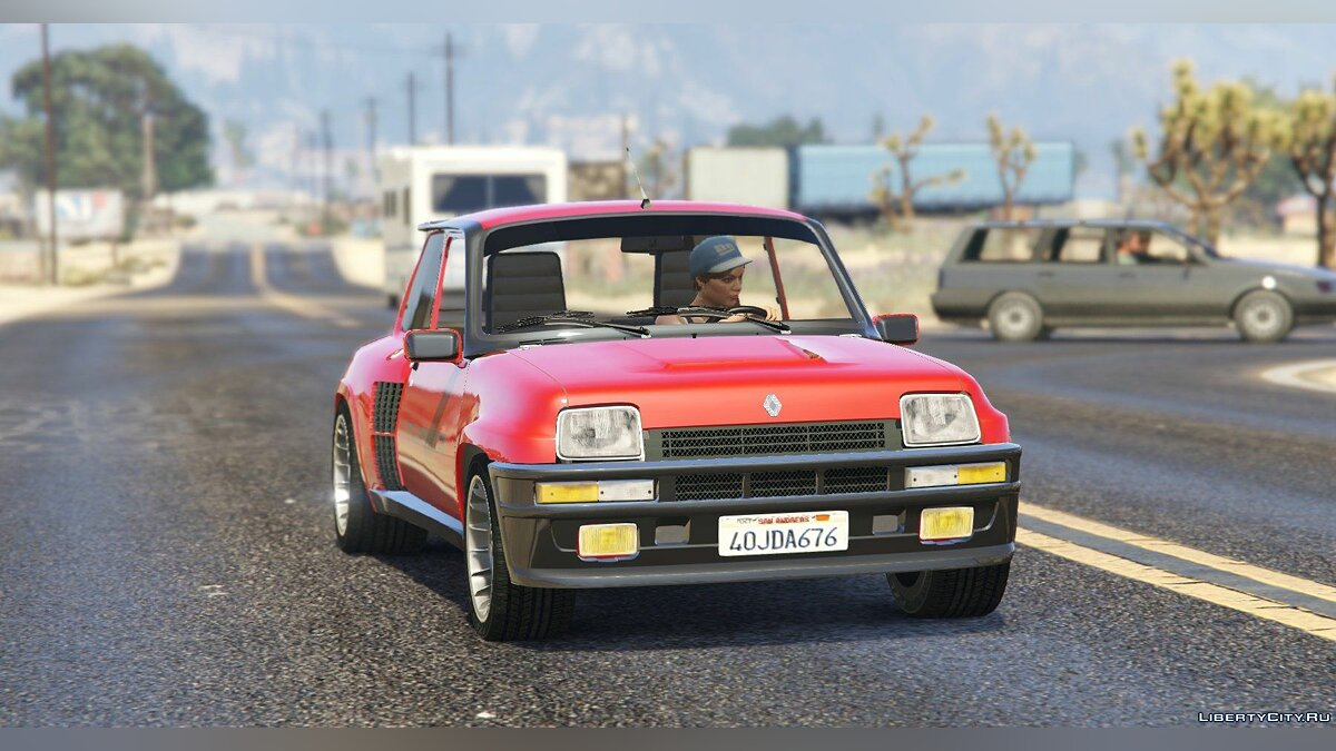 Renault 5 Turbo (2 Cars Pack) [Add-On / Replace | Tuning | Livery] 2.1 для GTA 5 - скриншот #2