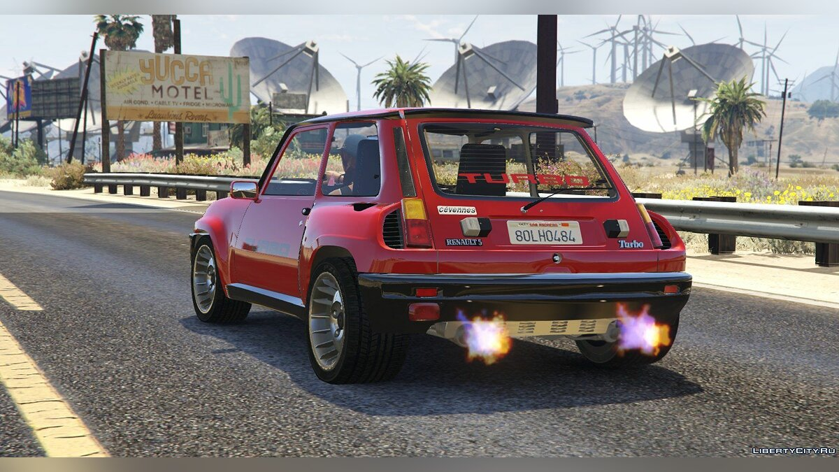 Renault 5 Turbo (2 Cars Pack) [Add-On / Replace | Tuning | Livery] 2.1 для GTA 5 - скриншот #12