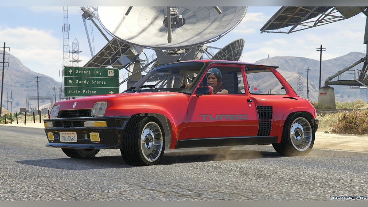 Renault 5 Turbo (2 Cars Pack) [Add-On / Replace | Tuning | Livery] 2.1 для GTA 5 - скриншот #5