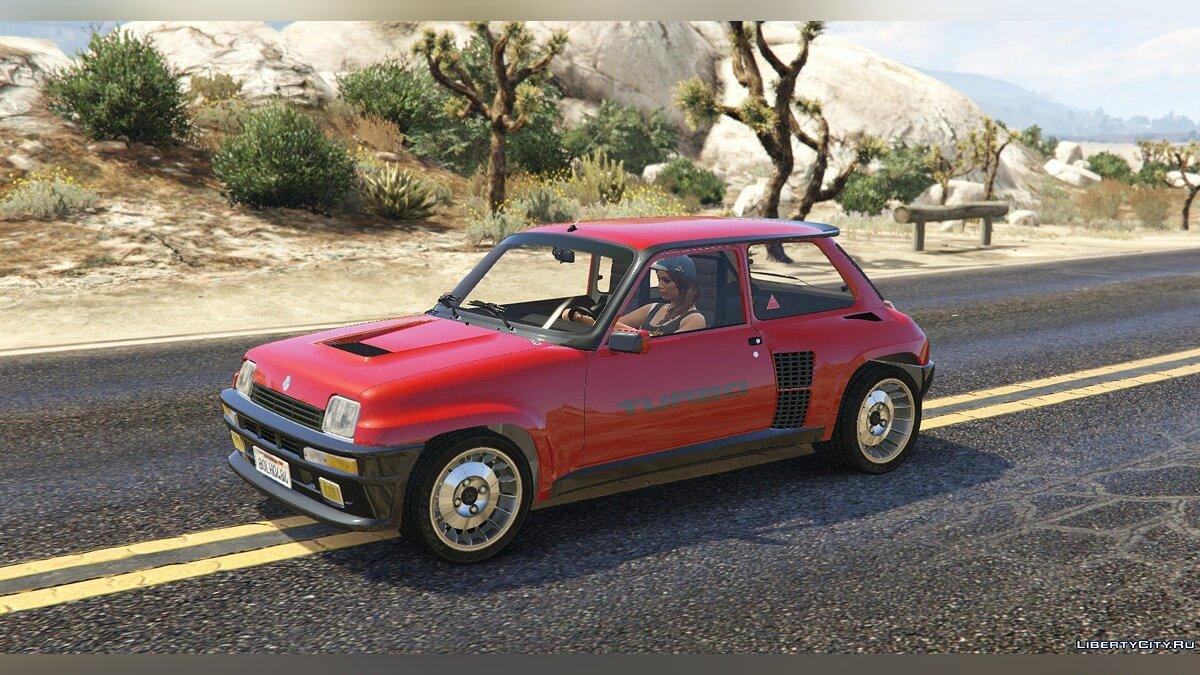 Renault 5 Turbo (2 Cars Pack) [Add-On / Replace | Tuning | Livery] 2.1 для GTA 5 - скриншот #13