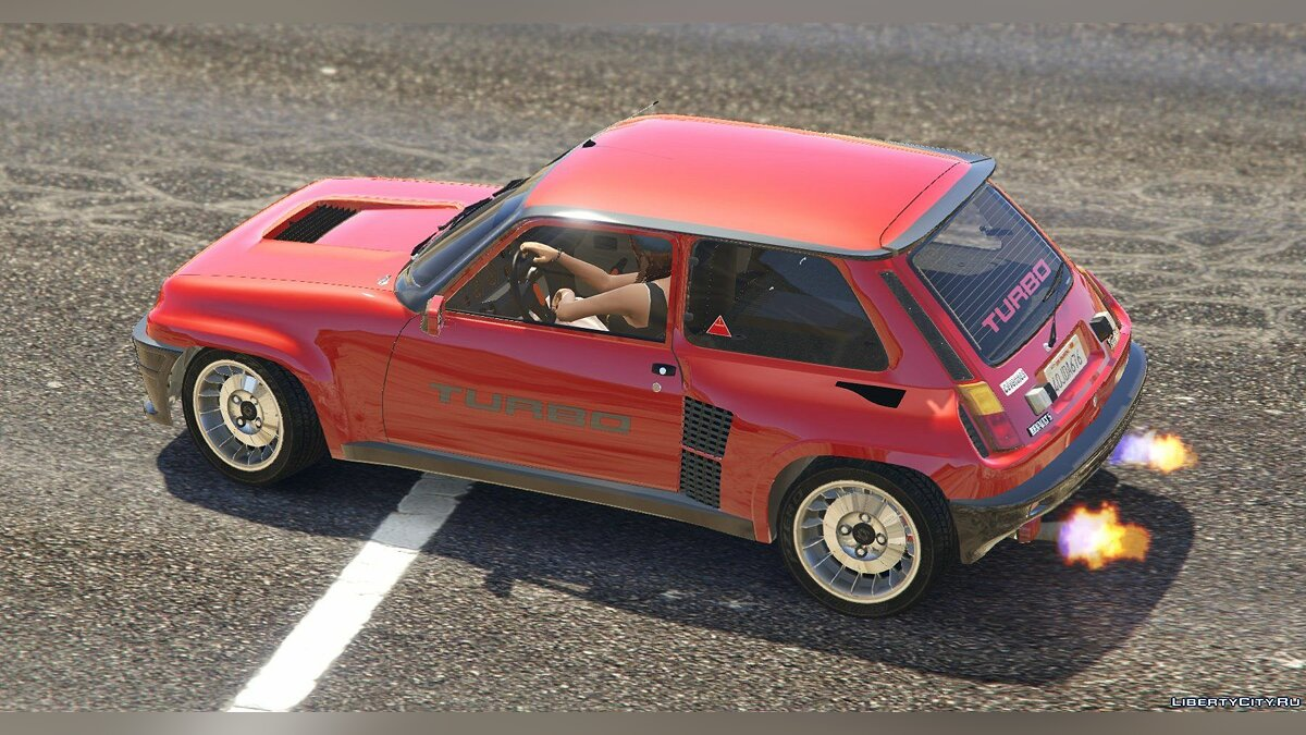 Renault 5 Turbo (2 Cars Pack) [Add-On / Replace | Tuning | Livery] 2.1 для GTA 5 - скриншот #9