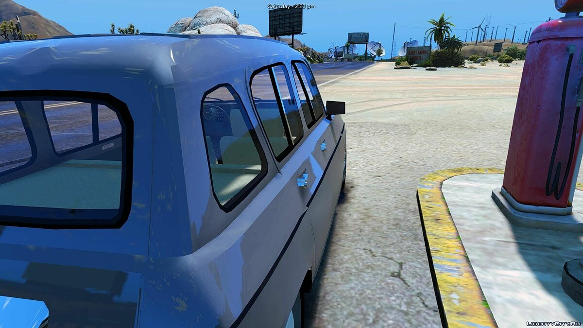 ��ашина Renault Renault 4L (Add-on/Remplace) 1.1 для GTA 5