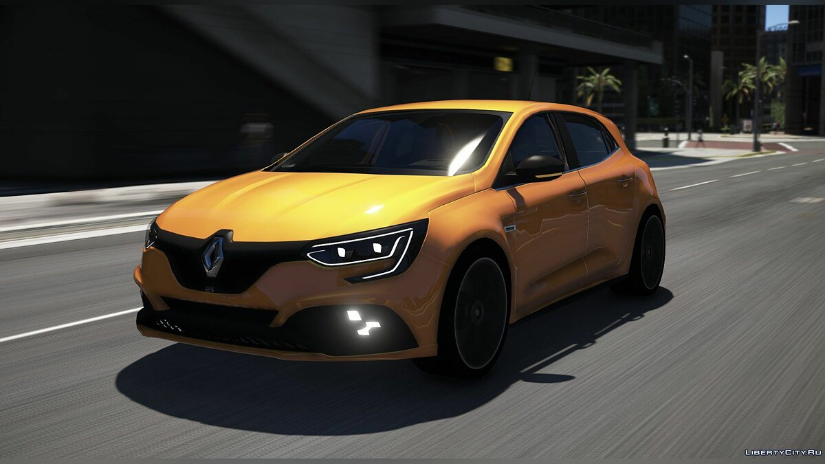 Машина Renault Renault Megane R.S 2018 [Add-On] 1.0 для GTA 5