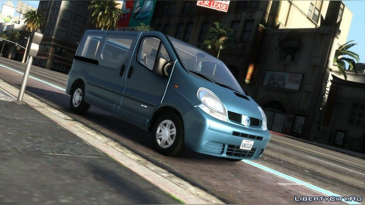 Машина Renault Renault Trafic II.1 Generation [Add-On | Extras] 1.0 для GTA 5