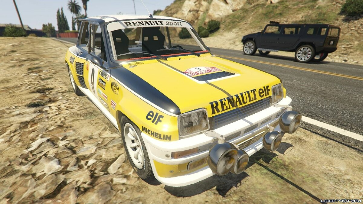 Renault 5 GT Turbo Rally для GTA 5