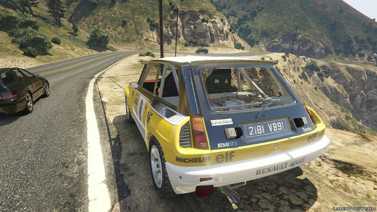 Renault 5 GT Turbo Rally для GTA 5 - скриншот #2