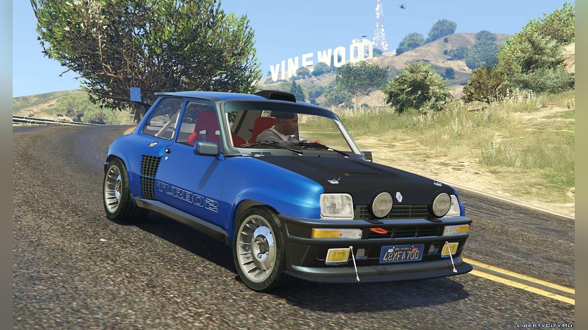 Renault 5 Turbo (2 Cars Pack) [Add-On / Replace | Tuning | Livery] 2.3 для GTA 5 - скриншот #6