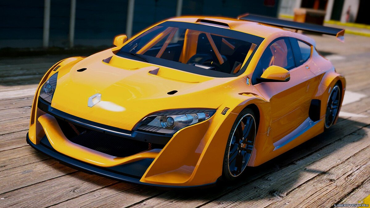 Renault Megane Trophy [Add-On] 1.2 для GTA 5
