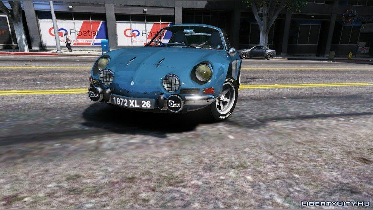 Renault Alpine A110 1600 S 1970 [Add-On/Replace - Tuning - Template] 1.0 для GTA 5