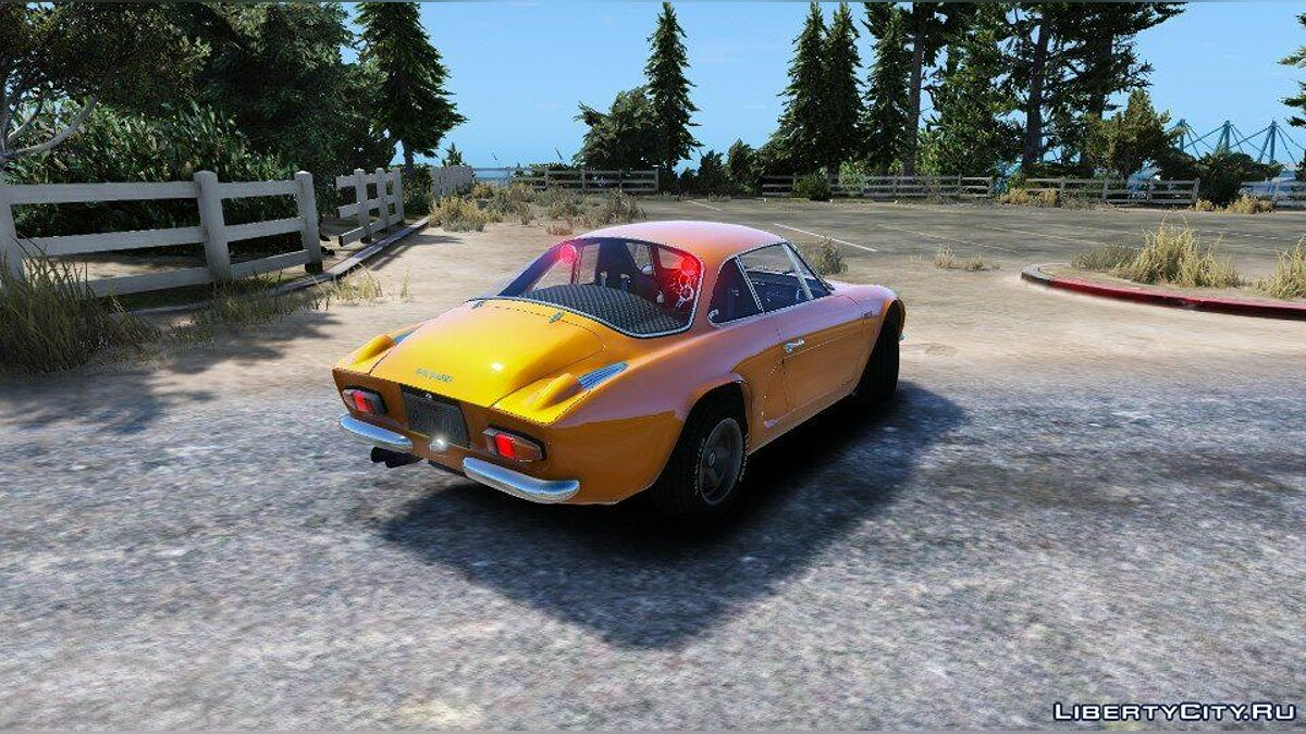 Renault Alpine A110 1600 S 1970 [Add-On/Replace - Tuning - Template] 1.0 для GTA 5 - скриншот #11