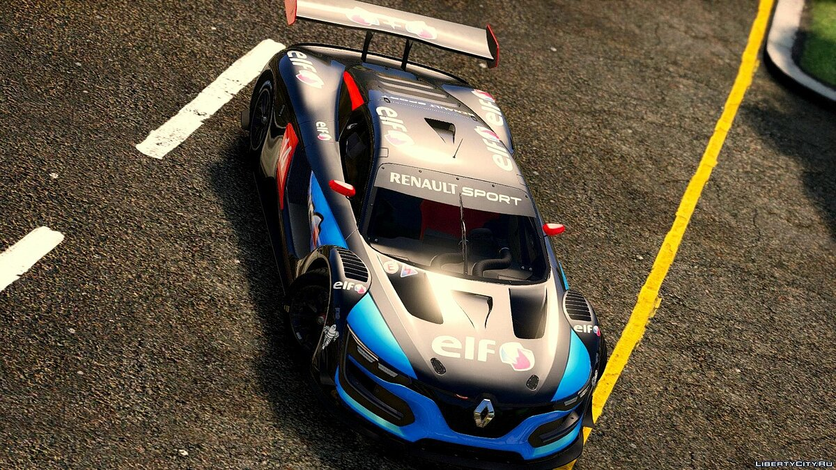 Renault Sport RS [Add-On | Multi-Livery | Template] 1.0 для GTA 5 - скриншот #4