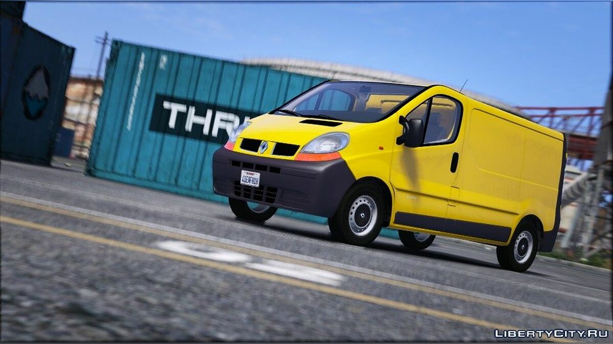 Renault Trafic II.1 Fourgon [Add-On | Extras] 1.0 для GTA 5 - Картинка #2