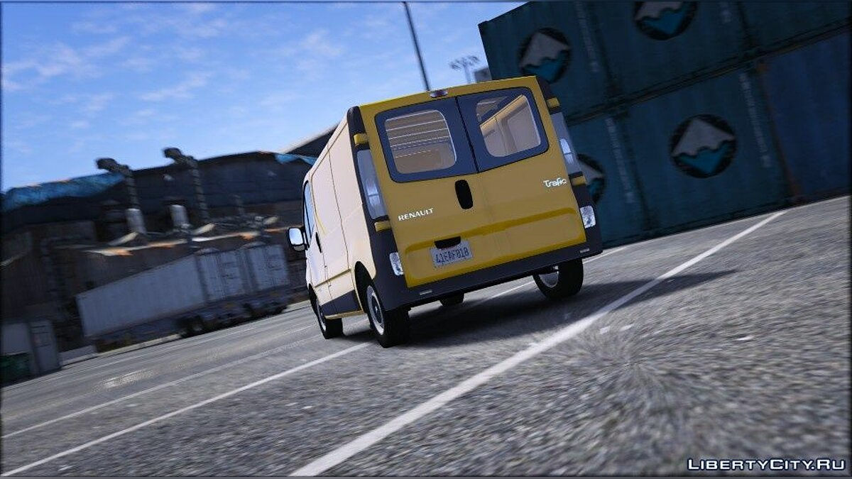 Машина Renault Renault Trafic II.1 Fourgon [Add-On | Extras] 1.0 для GTA 5