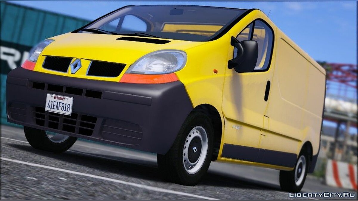 Renault Trafic II.1 Fourgon [Add-On | Extras] 1.0 для GTA 5 - Картинка #8