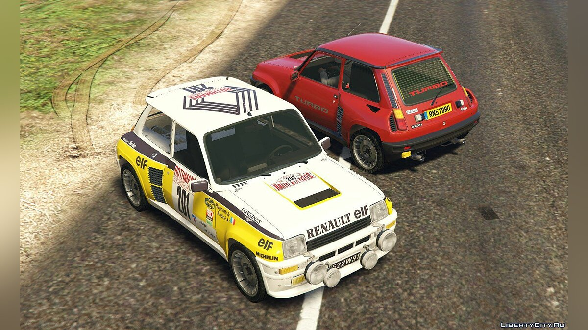 Renault 5 Turbo & Rally (2in1) [Add-On | Tuning | Livery] 1.2 для GTA 5