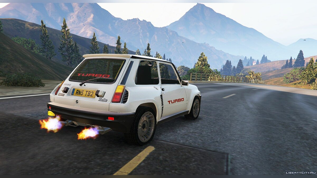 Renault 5 Turbo & Rally (2in1) [Add-On | Tuning | Livery] 1.2 для GTA 5 - скриншот #4