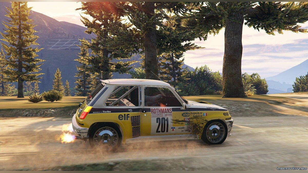 Renault 5 Turbo & Rally (2in1) [Add-On | Tuning | Livery] 1.2 для GTA 5 - скриншот #8