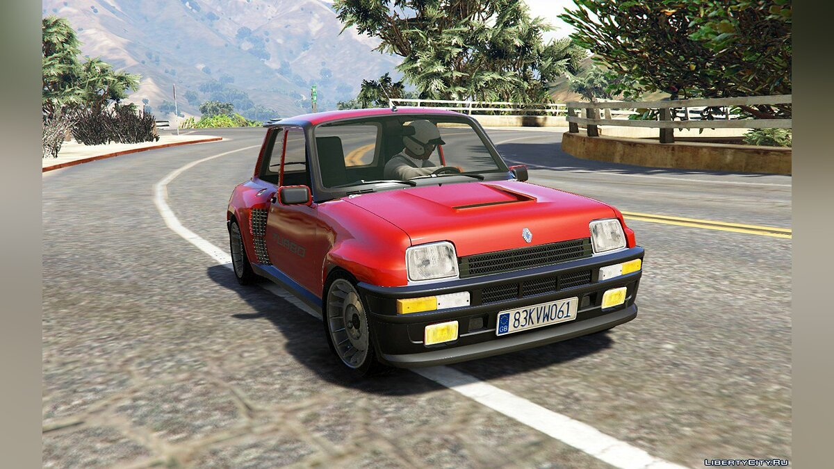 Renault 5 Turbo & Rally (2in1) [Add-On / Replace | Tuning | Livery] 1.5 для GTA 5 - скриншот #4