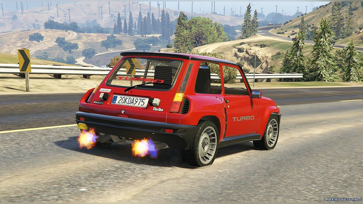Renault 5 Turbo & Rally (2in1) [Add-On / Replace | Tuning | Livery] 1.5 для GTA 5 - скриншот #3