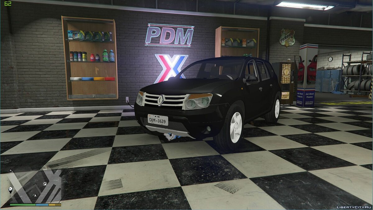 Renault Duster [Unlocked] 1.0 для GTA 5 - скриншот #2