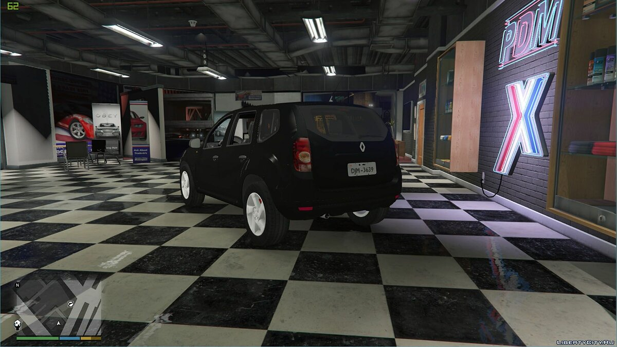 Renault Duster [Unlocked] 1.0 для GTA 5 - скриншот #3