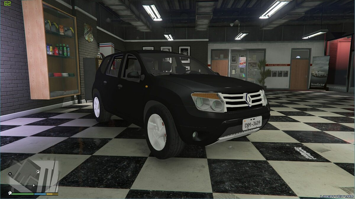 Renault Duster [Unlocked] 1.0 для GTA 5