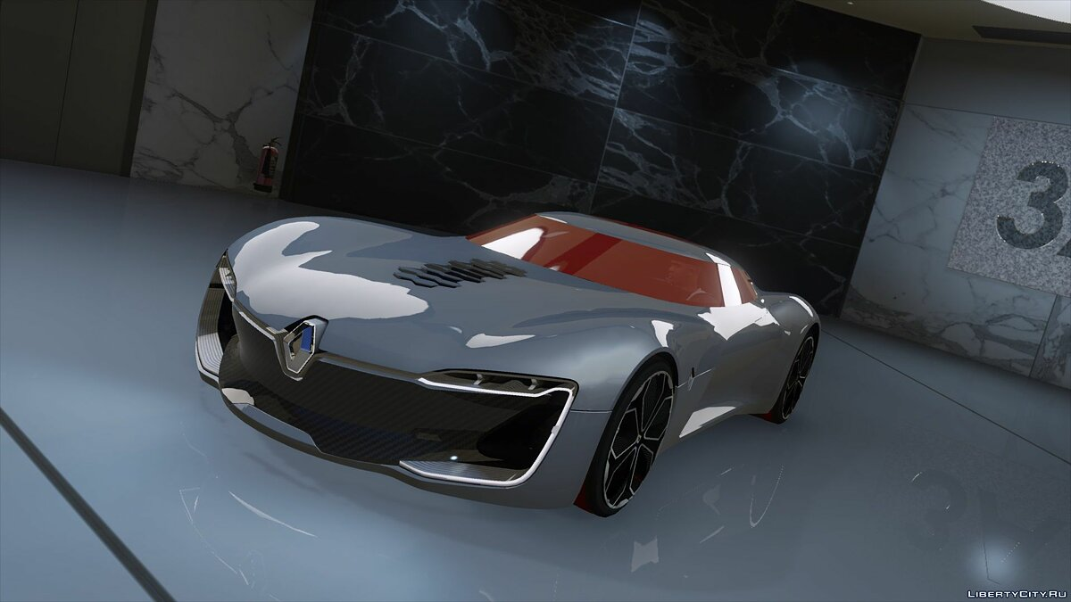 Машина Renault Renault Trezor (Add-on/Replace) 2.0 для GTA 5