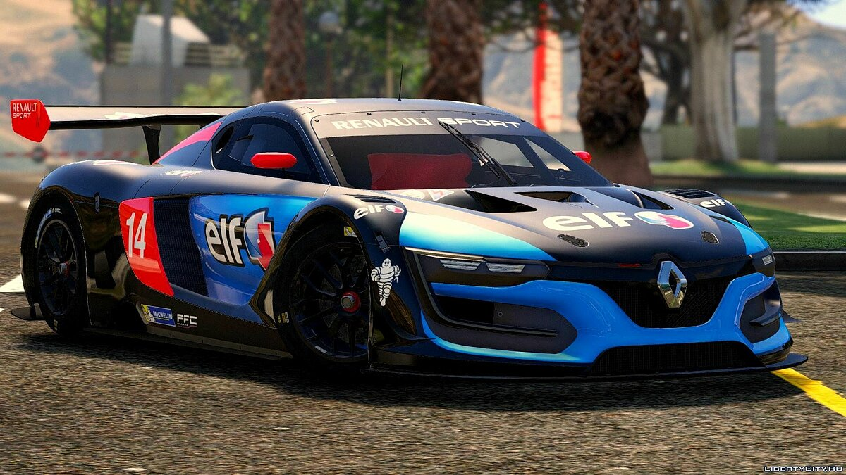 Renault Sport RS [Add-On | Multi-Livery | Template] 3.0 для GTA 5