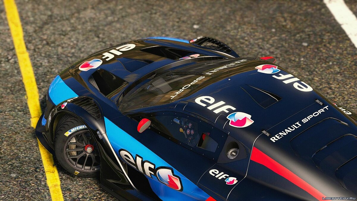 Renault Sport RS [Add-On | Multi-Livery | Template] 3.0 для GTA 5 - скриншот #3