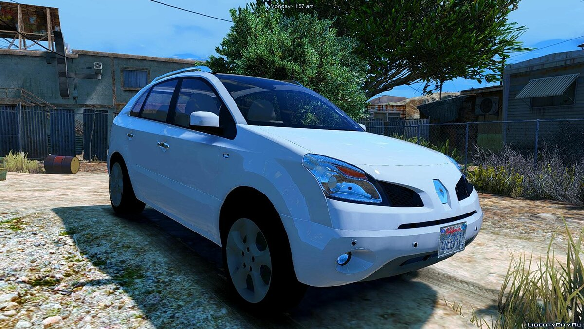 Renault Koleos [Add-On / Replace] 1.0 для GTA 5 - скриншот #6