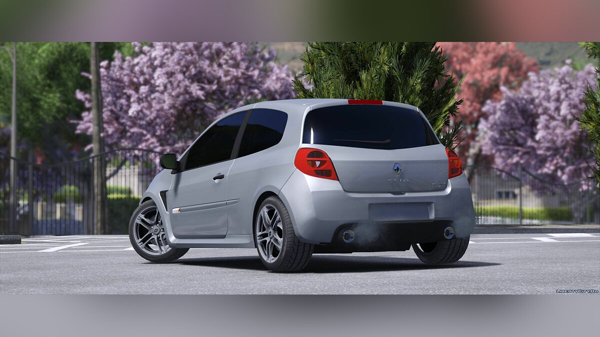 Машина Renault Renault Clio 3 rs 2010 [Replace] 1.0 для GTA 5