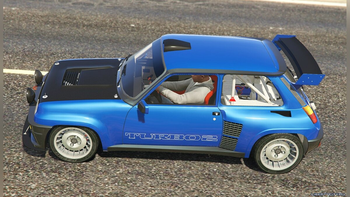 ��ашина Renault Renault 5 Turbo (2 Cars Pack) [Add-On / Replace | Tuning | Livery] 2.2 для GTA 5