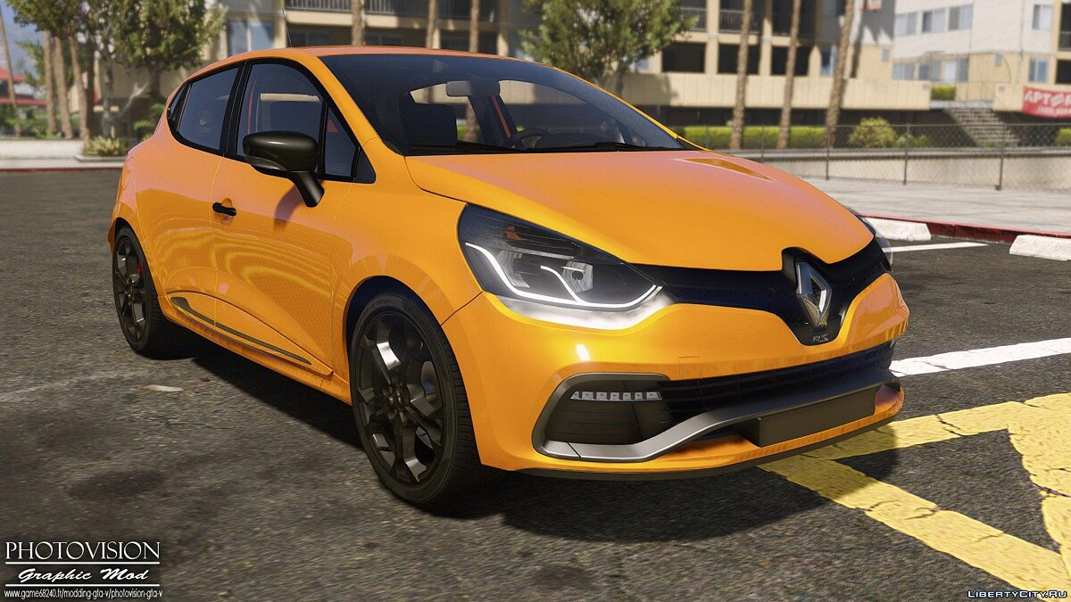 Renault Clio IV RS 2013 [Add-On / Replace | Tuning | Template] для GTA 5