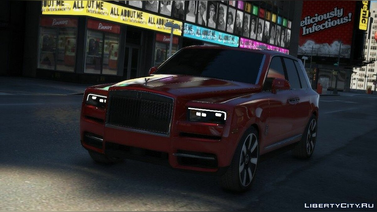 Машина Rolls-Royce Rolls-Royce Cullinan 2019 [Add-On / Replace] 1.0 для GTA 5