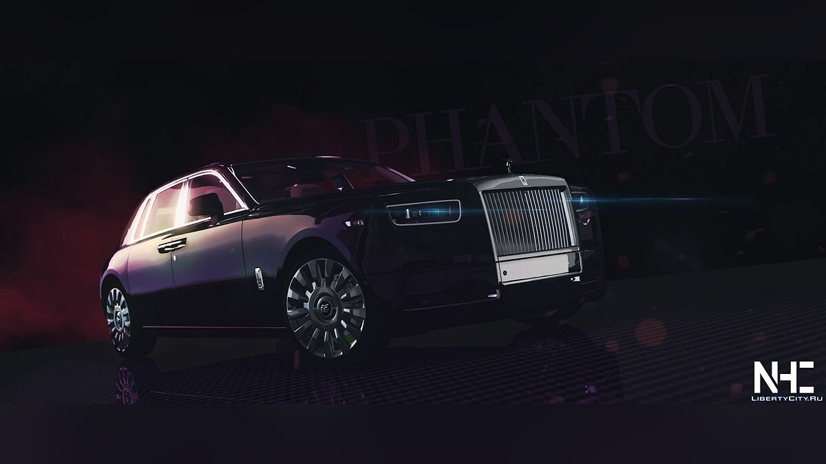 Машина Rolls-Royce 2018 Rolls-Royce Phantom VIII [Add-On | HQ] 1.0 для GTA 5
