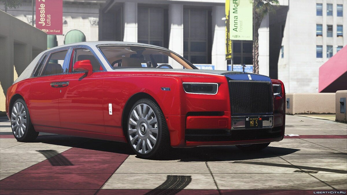 2018 Rolls-Royce Phantom VIII [Add-On | HQ] 1.0 для GTA 5 - скриншот #6