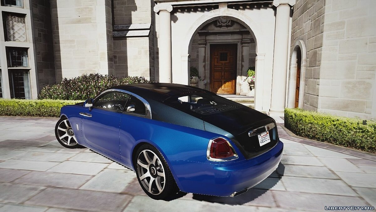 Машина Rolls-Royce Rolls-Royce Wraith [Add-On / Replace | Animated] 1.1a для GTA 5