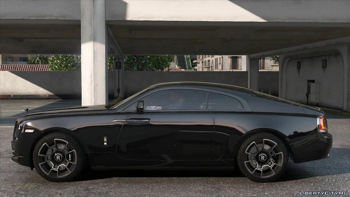 Машина Rolls-Royce 2019 Rolls-Royce Wraith Black Badge [Add-On | Logo Animated] для GTA 5