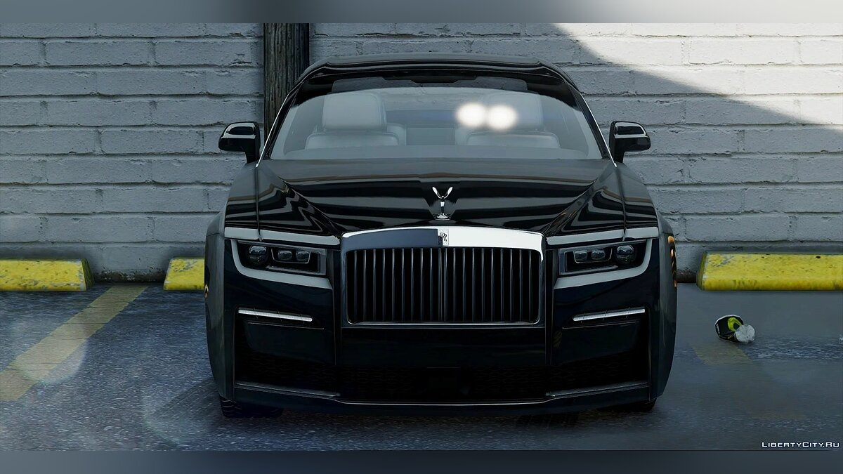 Машина Rolls-Royce 2021 Rolls Ghost swb [Add-On | Animated logo ] 1.0 для GTA 5