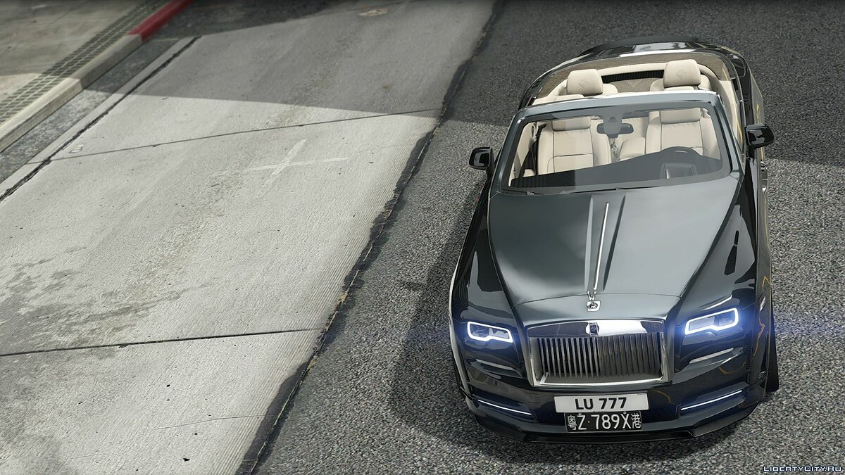 Машина Rolls-Royce 2016 Rolls-Royce Dawn Onyx Concept [Add-On | Tuning] 1.0 для GTA 5